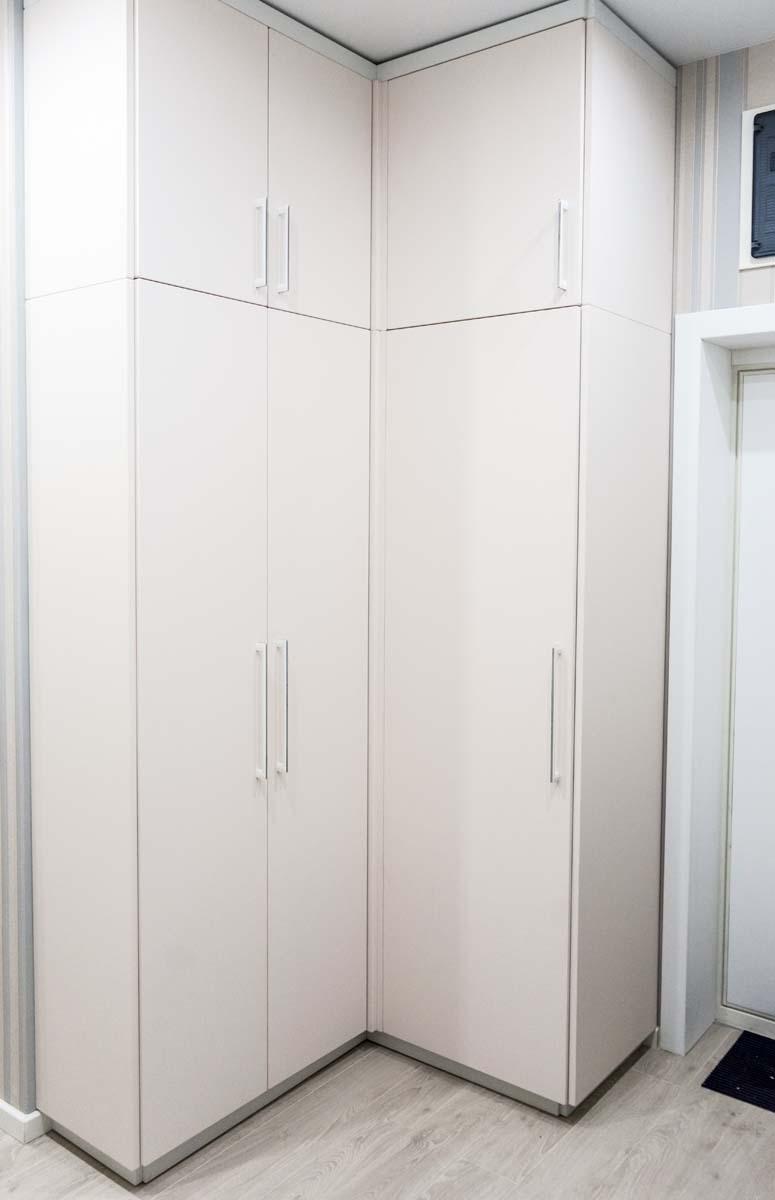 угловая система шкафов
