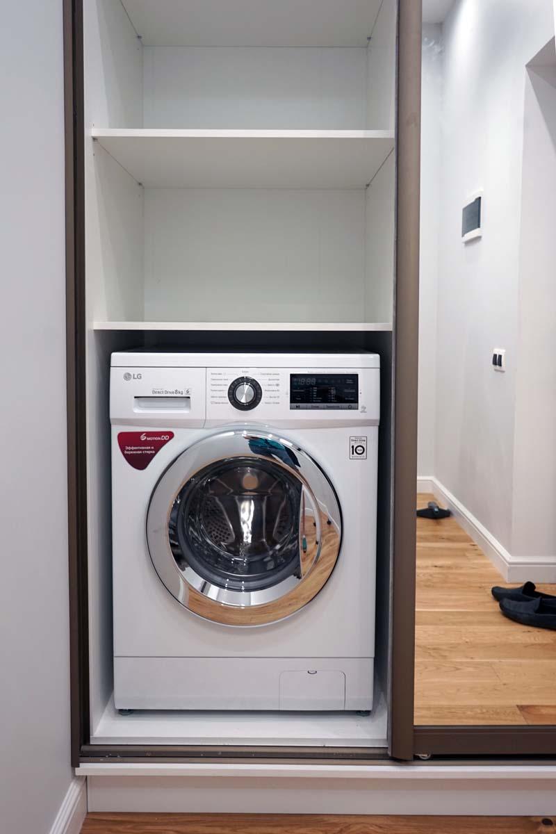шкаф под стиральную машинку