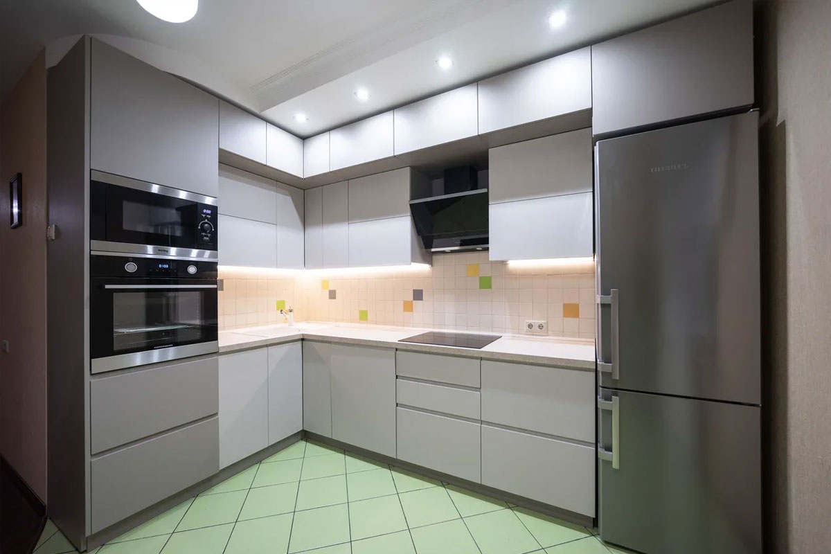 замена старой кухни